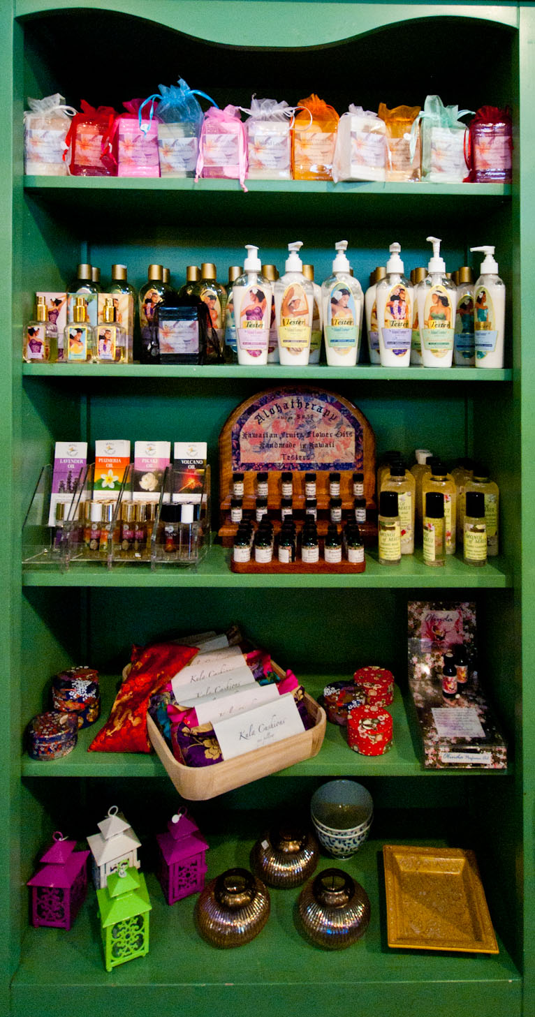 Island Essence and Alohatherapy Body Products