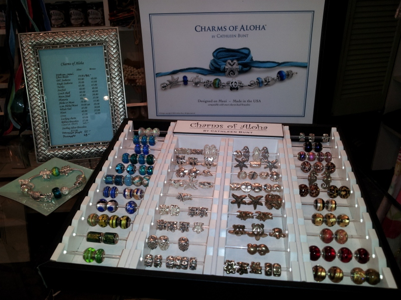 Charms Of Aloha Store Tray