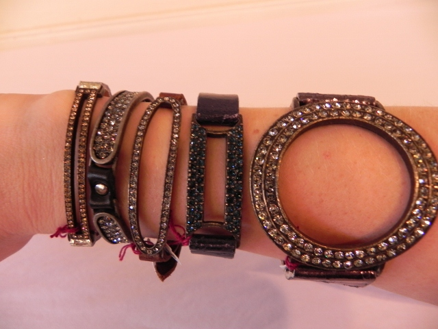 Rebel Bracelets On Arm
