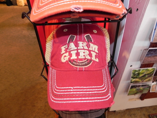 Red Farm Girl Hat