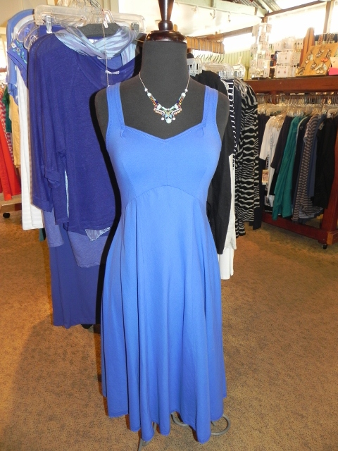 Luna Luz Blue Dress