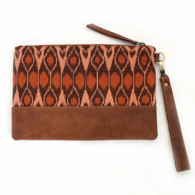 Tiger Rose brown-pouch