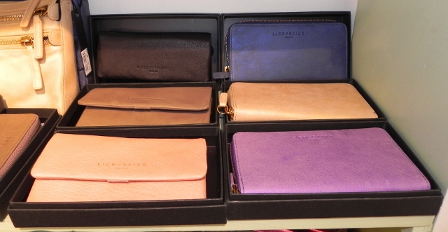 Fall Liebeskind Envelope Wallets and Zipper Wallets in Metallic Suede