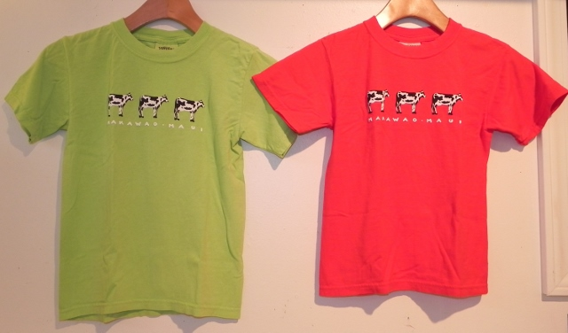 Kids Makawao Cow Tee2