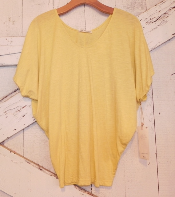 Fresh Laundry Dolman In Yellow