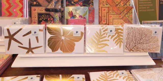 Bradley and Lily Stationary-Gold Collection