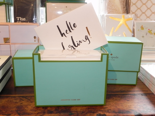 Kate Spade Large Stationary Set
