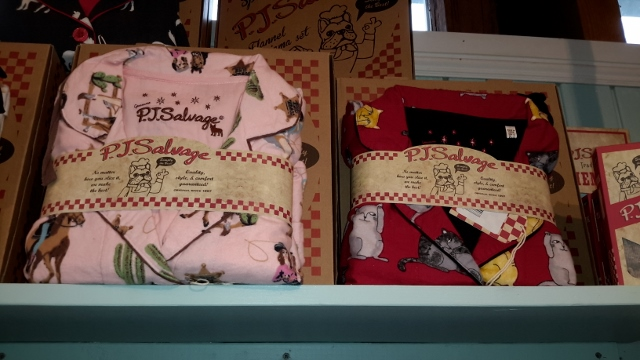 PJ Salvage Cowgirls and Cats Flannel Sets
