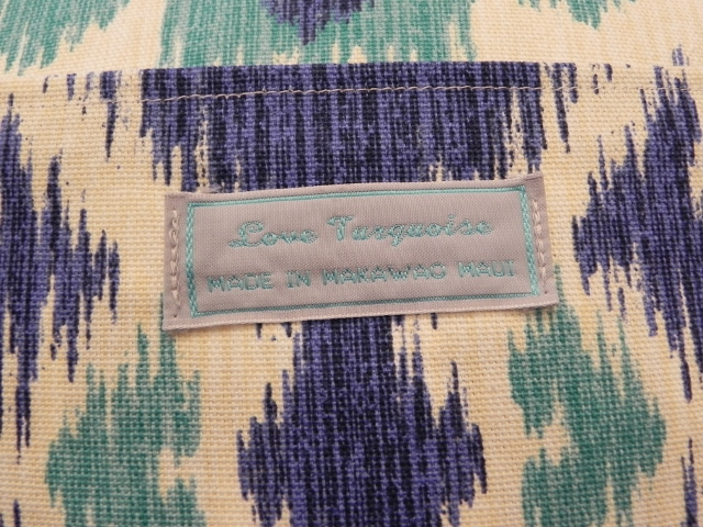 Love Turquoise Label