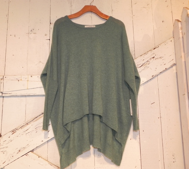 Subtle Luxury Green Cashmere