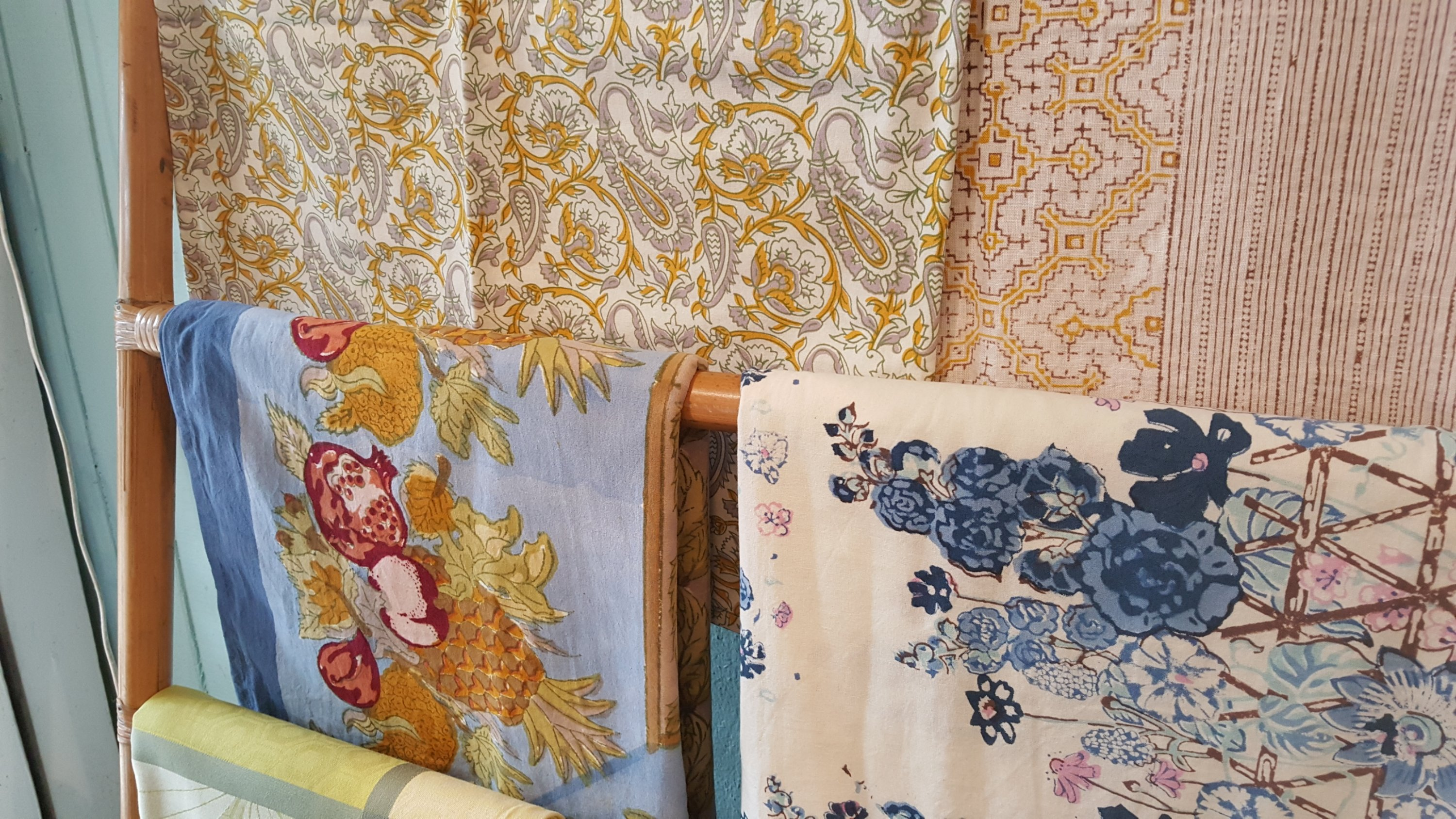 New Table Linens From Couleur Nature Collections Maui