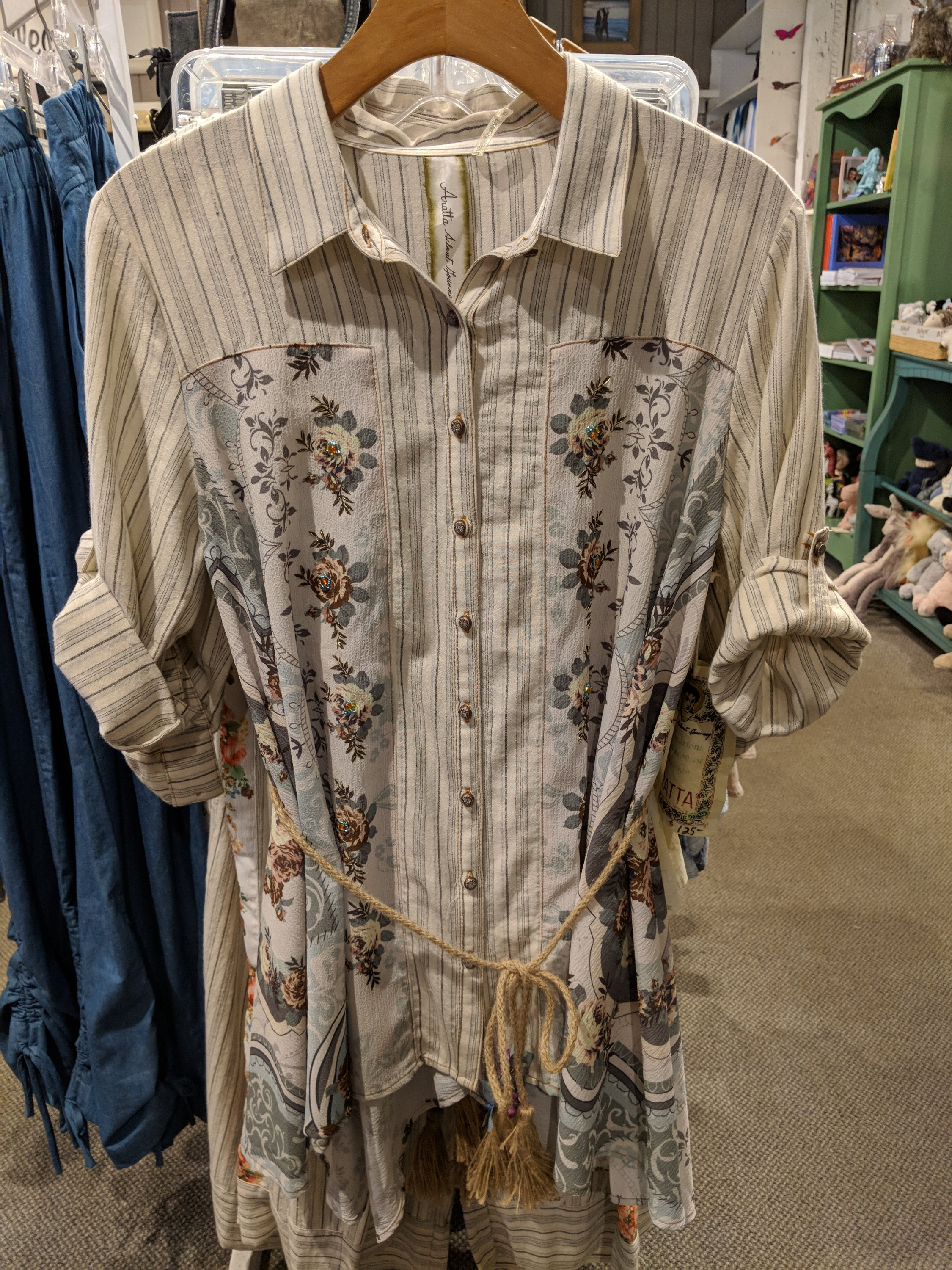 Beautiful Embroidered Tops And Dresses From Aratta